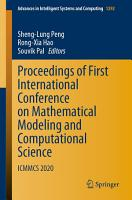 Proceedings of First International Conference on Mathematical Modeling and Computational Science PDF