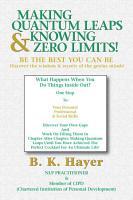 Making Quantum Leaps   Knowing Zero Limits  PDF