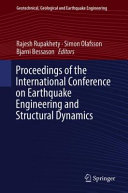 Proceedings of the International Conference on Earthquake Engineering and Structural Dynamics