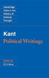 Kant: Political Writings: Edition 2