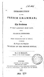 An introduction to the French grammar
