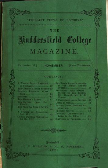 Huddersfield College Magazine PDF