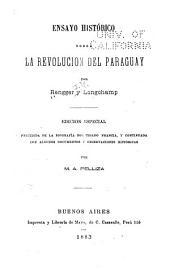 Ensayo histórico sobre la revolución del Paraguay