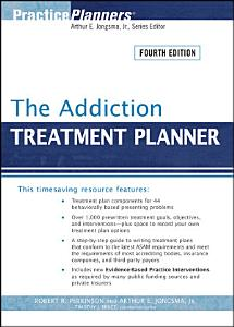 The Addiction Treatment Planner Book