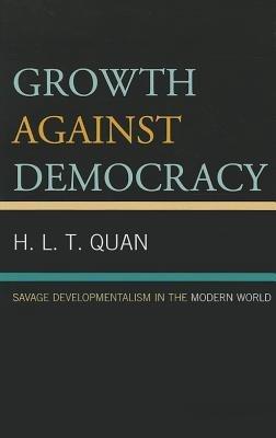 Growth Against Democracy PDF