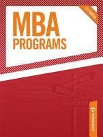 MBA Programs 2010 PDF