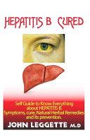 Hepatitis B Cured