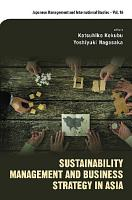 Sustainability Management And Business Strategy In Asia PDF