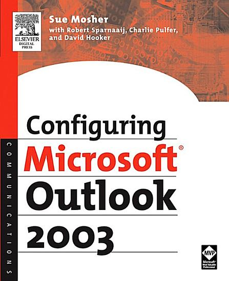 Configuring Microsoft Outlook 2003 PDF