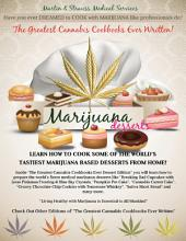 The Greatest Cannabis Cookbook Ever Written - Marijuana Desserts