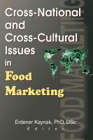 Cross National and Cross Cultural Issues in Food Marketing PDF