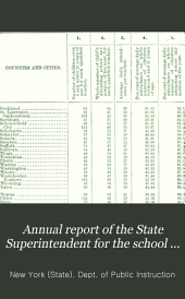 Report of the State Superintendent: Volume 34