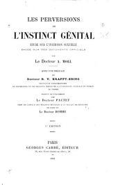 Les perversions de l'instinct génital: étude sur l'inversion sexuelle basée sur des documents officiels