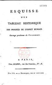 Tableau historique des progrès de l'esprit humain, Ouvrage posthume