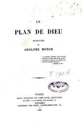 Le plan de Dieu: discours