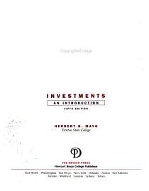 Investments PDF