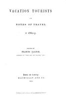 Vacation Tourists and Notes of Travel in 1860  1861  1962 3  PDF