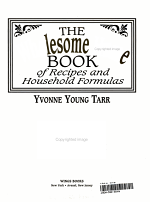 The Wholesome Home Book of Recipes & Household Formulas