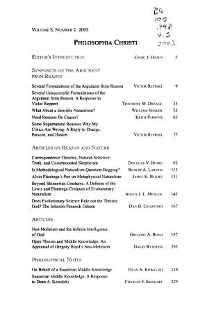Philosophia Christi PDF