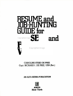 Resume and Job Hunting Guide for Present and Future Veterans PDF