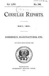 Consular Reports: Commerce, manufactures, etc, Issues 248-251