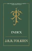 The History Of Middle Earth Index