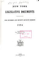 Download New York Legislative Documents Book