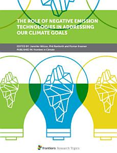 The Role of Negative Emission Technologies in Addressing Our Climate Goals