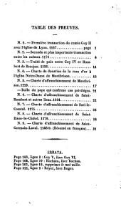 Histoire du Forez: Volume1
