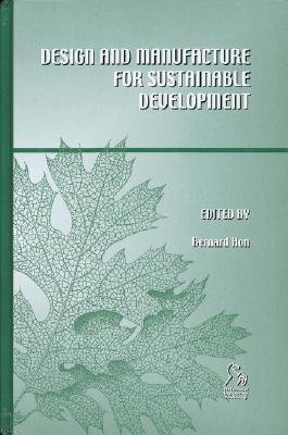Design and Manufacture for Sustainable Development PDF