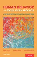 Human Behavior for Social Work Practice PDF