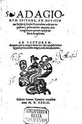Adagiorum epitome