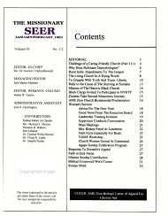 The Missionary Seer PDF