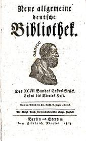 Neue allgemeine deutsche Bibliothek: Band 97