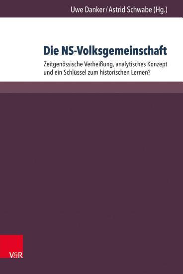 Die NS Volksgemeinschaft PDF
