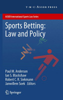 Sports Betting  Law and Policy PDF