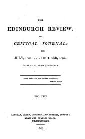 The Edinburgh Review Or Critical Journal: Volume 80; Volume 114
