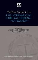 The Elgar Companion to the International Criminal Tribunal for Rwanda PDF