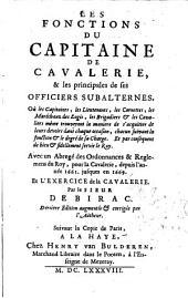 Les Fonctions du Capitaine de Cavalerie