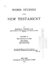 Word Studies in the New Testament: Volume 2
