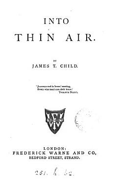 Into thin air PDF