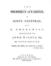 The Prophecy of Famine ... The Fifth Edition
