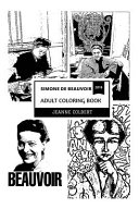 Simone de Beauvoir Adult Coloring Book PDF
