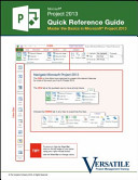 Microsoft Project 2013 Quick Reference Guide Book PDF