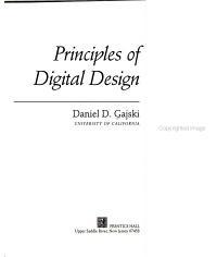 Principles of Digital Design PDF