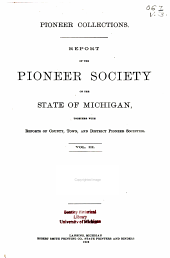 Michigan Historical Collections: Volume 3