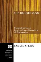 The Ubuntu God PDF