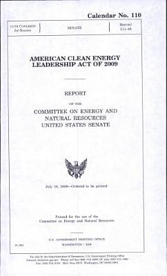 American Clean Energy Leadership Act of 2009