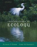 Fundamentals of Ecology