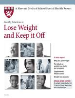 Healthy Solutions to Lose Weight and Keep it Off PDF